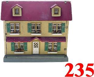 Red Roof Doll House