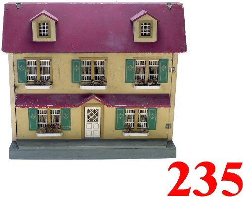 235: Red Roof Doll House