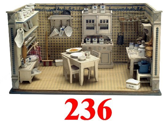 236: German Miniature Kitchen