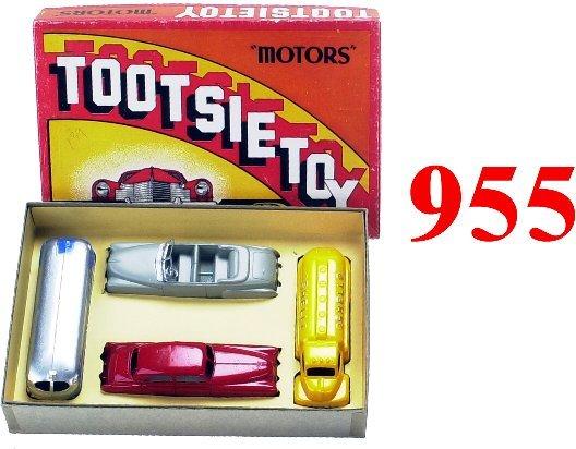 "955: Tootsietoy ""Motors"" Boxed Set  -  small"