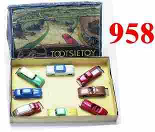 "Tootsietoy ""Motors"" Boxed Set"