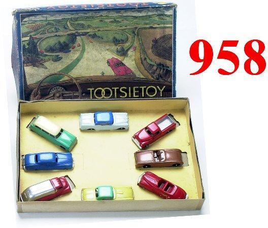 "958: Tootsietoy ""Motors"" Boxed Set"