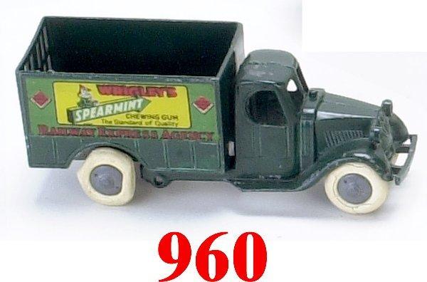 960: Tootsietoy Railway Express with Gum Adve