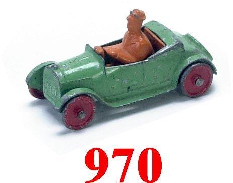 970: Tootsietoy Uncle Walt Roadster