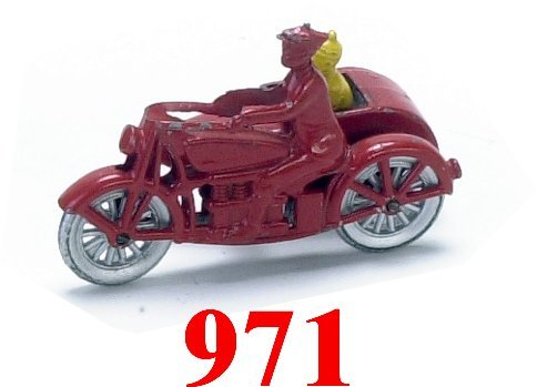 971: Tootsietoy Smitty & Herby Motorcycle