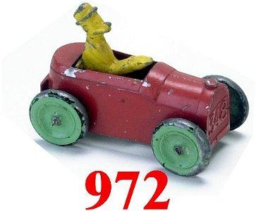 972: Tootsietoy Andy Gump Car