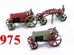 Lot: 2 Tootsietoy Tractors