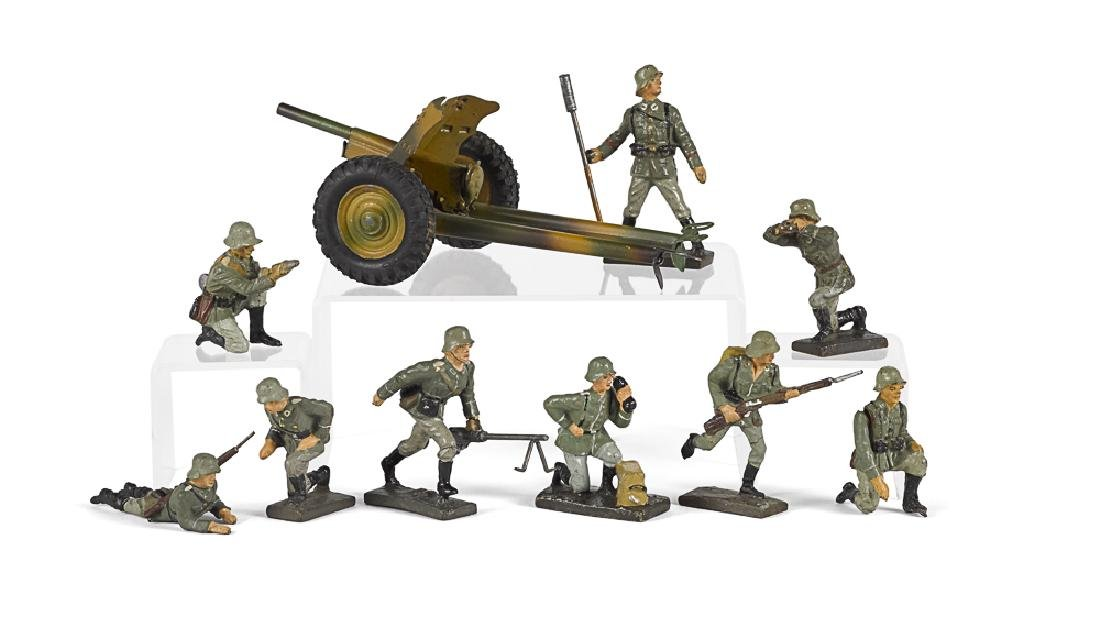 Lineol composition field artillery soldiers