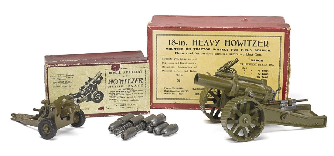 Two Britain's Howitzers with the original boxes