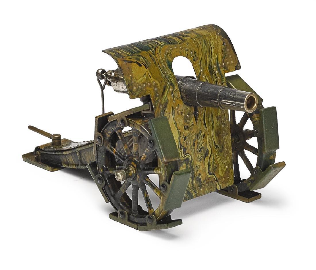 Marklin camouflage painted tin field gun