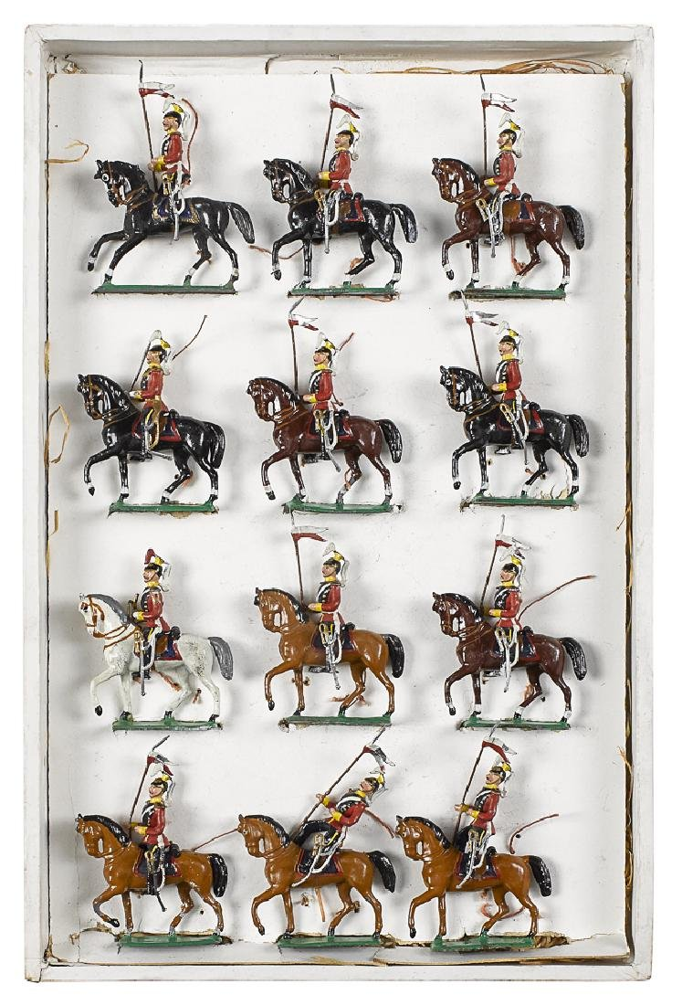 Heyde lead English Lancers #102 toy soldiers