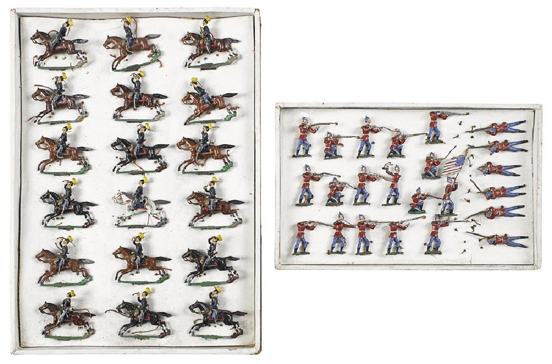 Heyde painted American cavalry #88/18 toy soldier
