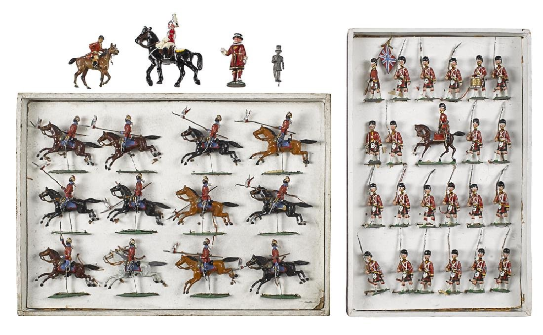 Heyde painted  Kurdish cavalry #84 toy soldiers