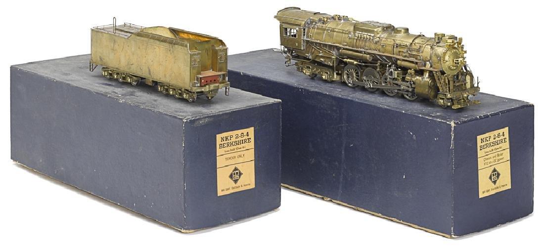 Max Gray brass 0 gauge Berkshire train locomotive