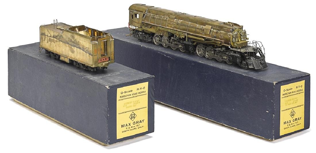 Max Gray 0 gauge Southern Pacific train locomotiv