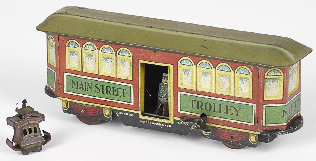 Nifty Main Street Trolley and Toonerville Penny Toy