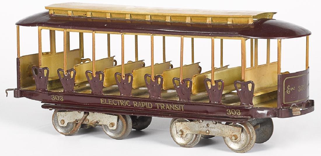 Lionel Electric Rapid Transit 303 trolley car