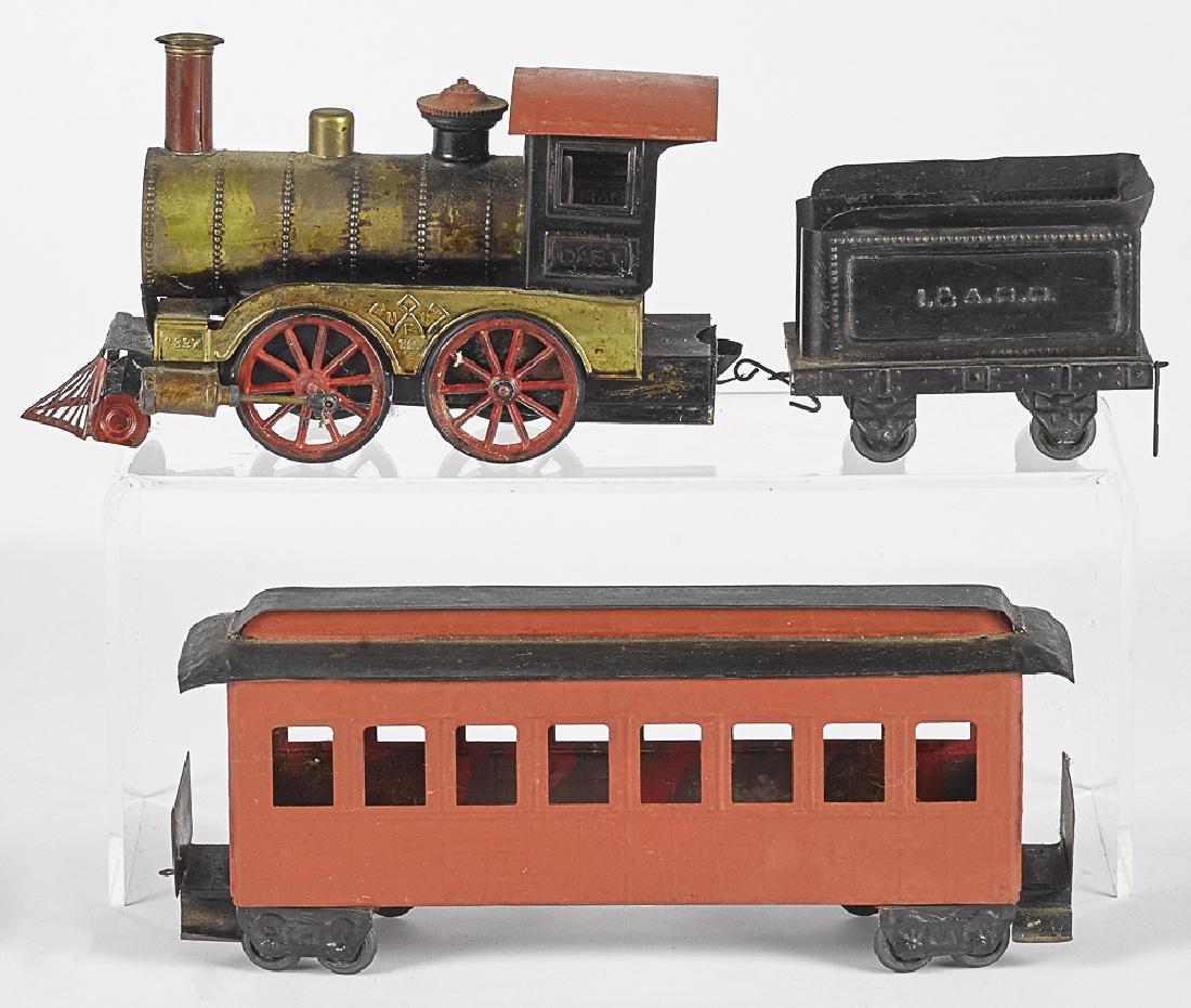 Weeden Dart 1887 live steam three piece train set
