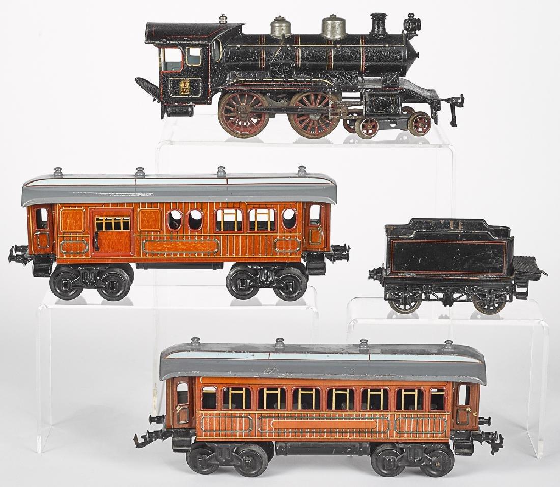 Bing gauge 1 four-piece passenger train set