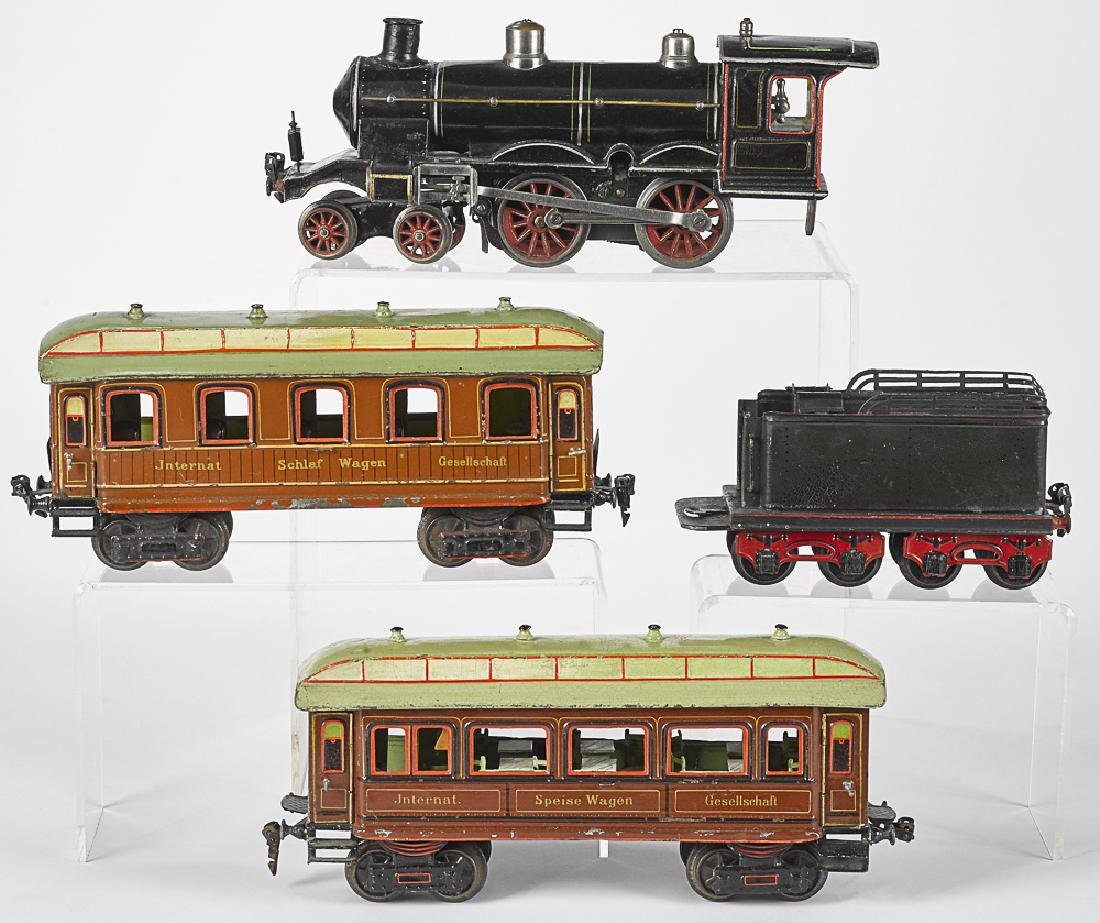 Marklin gauge 1 four-piece passenger train set