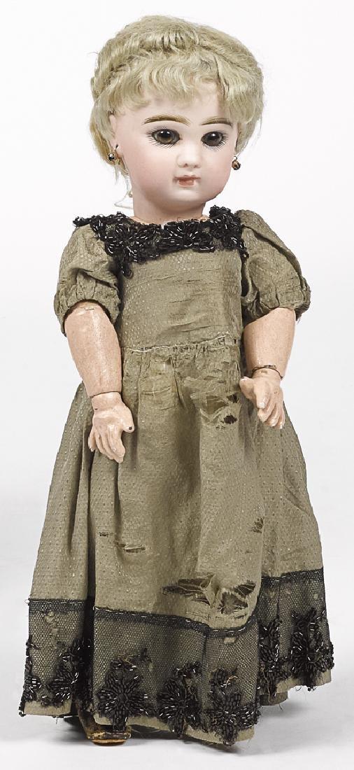 French Tete Jumeau bisque head doll