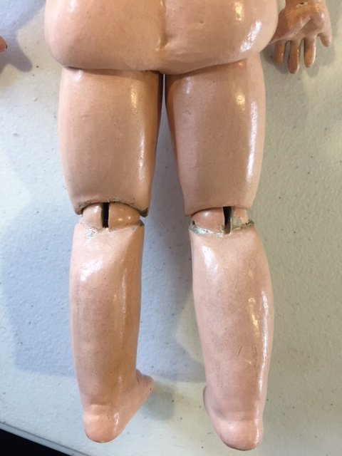 French Tete Jumeau bisque head doll - 5