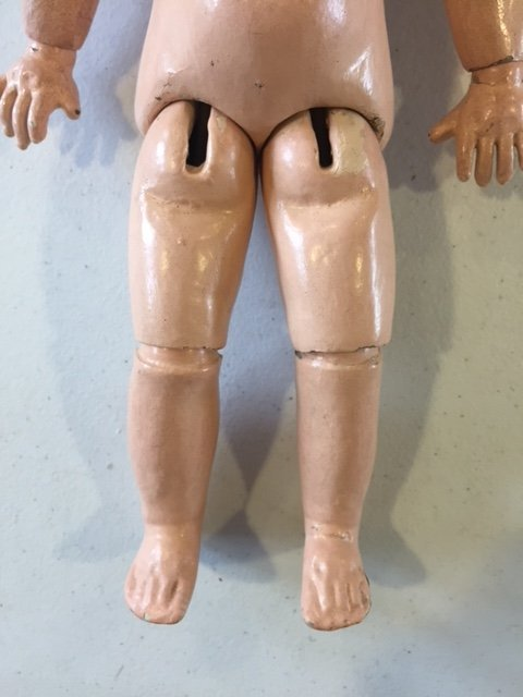 French Tete Jumeau bisque head doll - 6