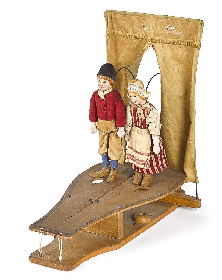 Scarce Schoenhut Jolly Jiggers dancing toy