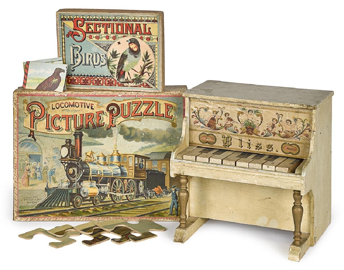 Bliss paper lithographed piano
