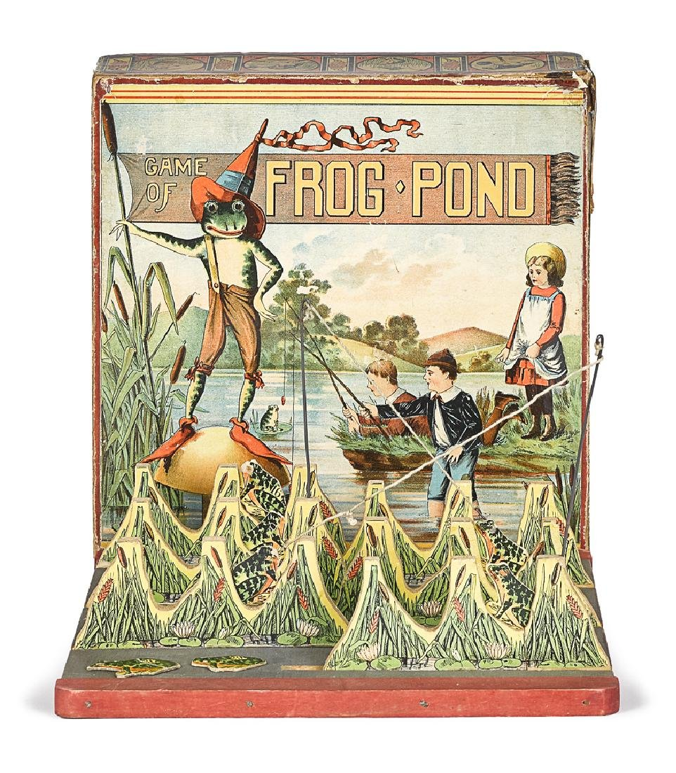 Scarce Bliss Game of Frog Pond, fishing game