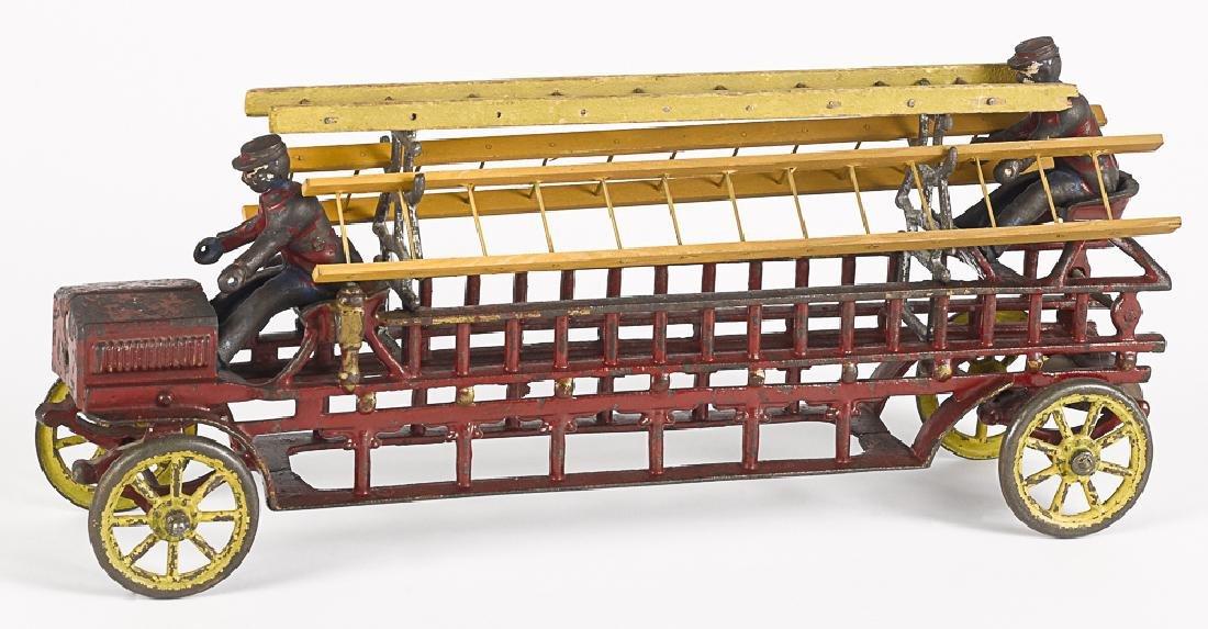 Kenton cast iron early ladder truck