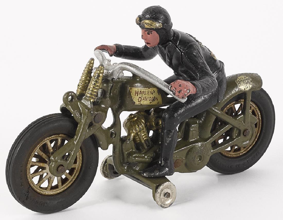 Hubley Harley Davidson hillclimber motorcycle