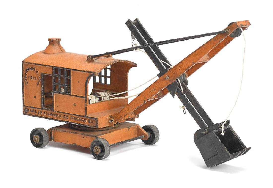 Niederst Co., Chicago Ill. cast iron steam shovel