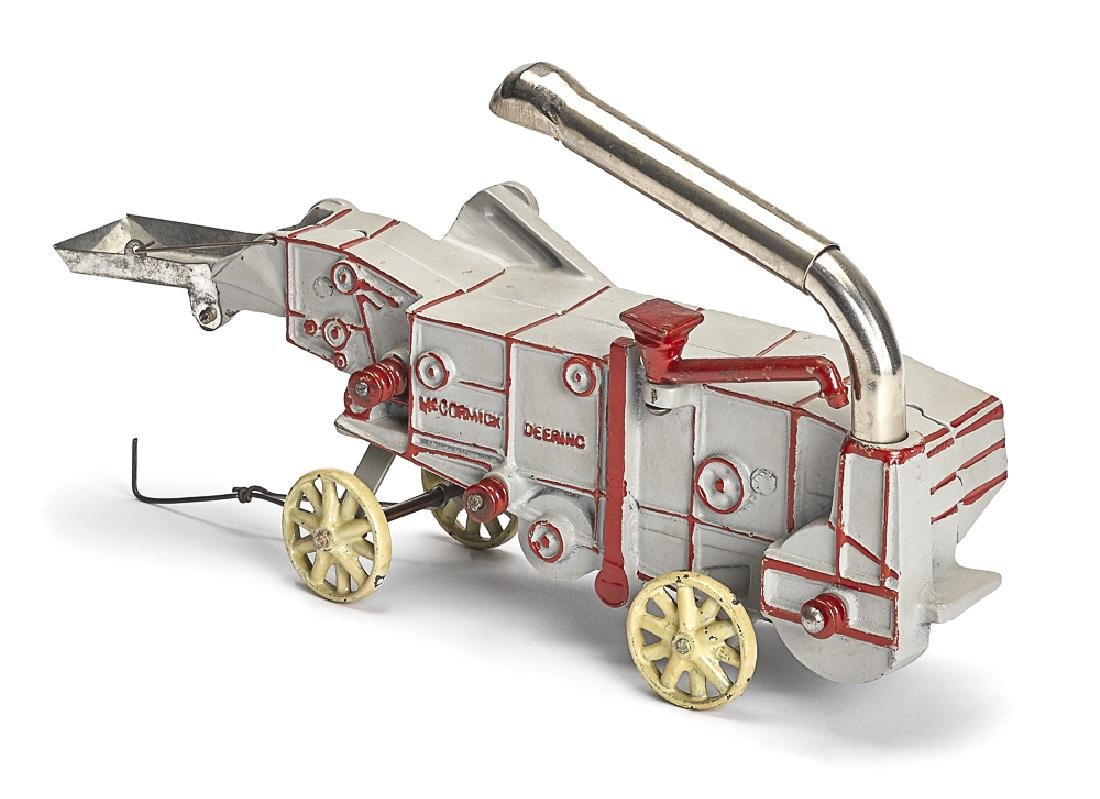 Arcade cast iron McCormick Deering thresher