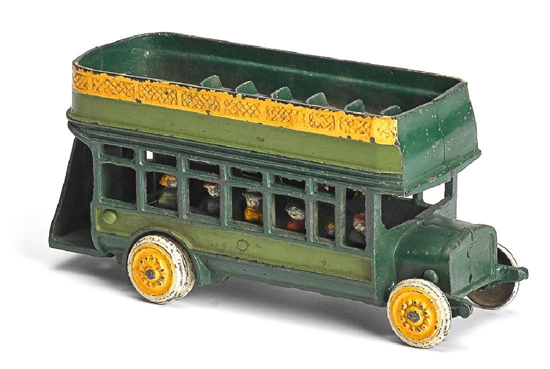 Scarce Freidag double decker bus