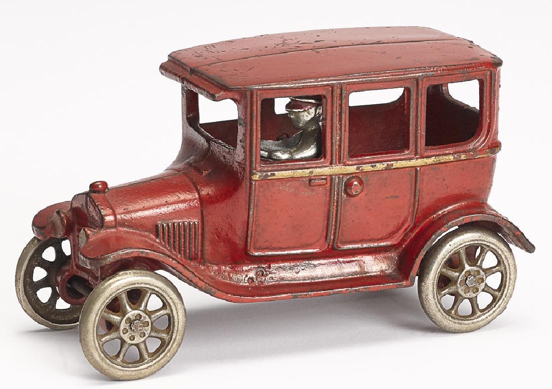Arcade cast iron Model T sedan
