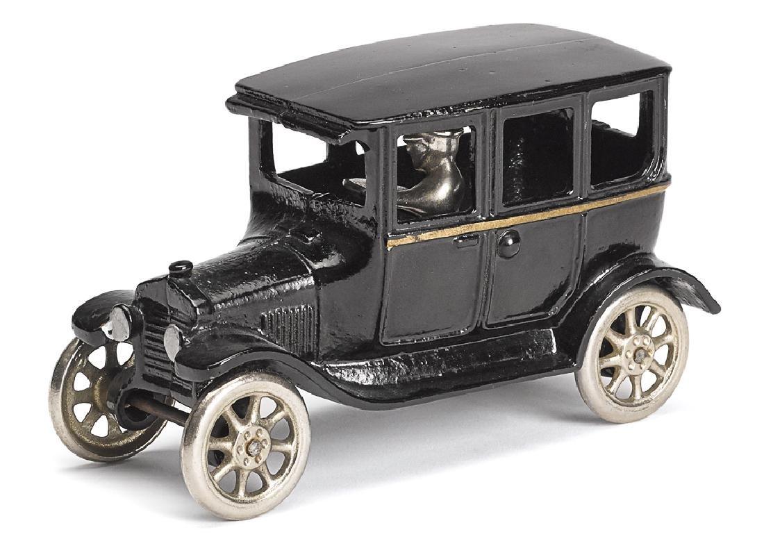 Arcade cast iron Model T Tudor sedan