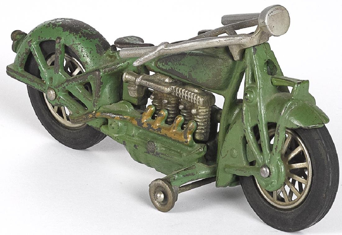 Hubley cast iron Indian four cylinder motorcycle