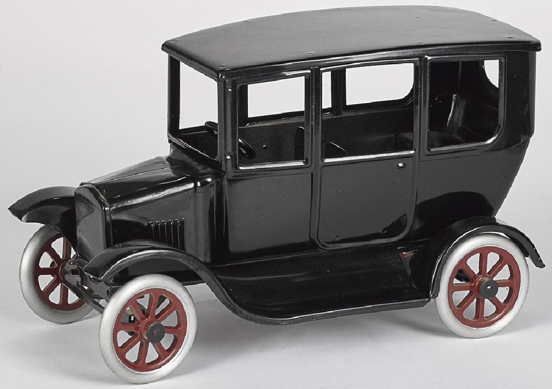 Cowdery Toy Works pressed steel Flivver sedan