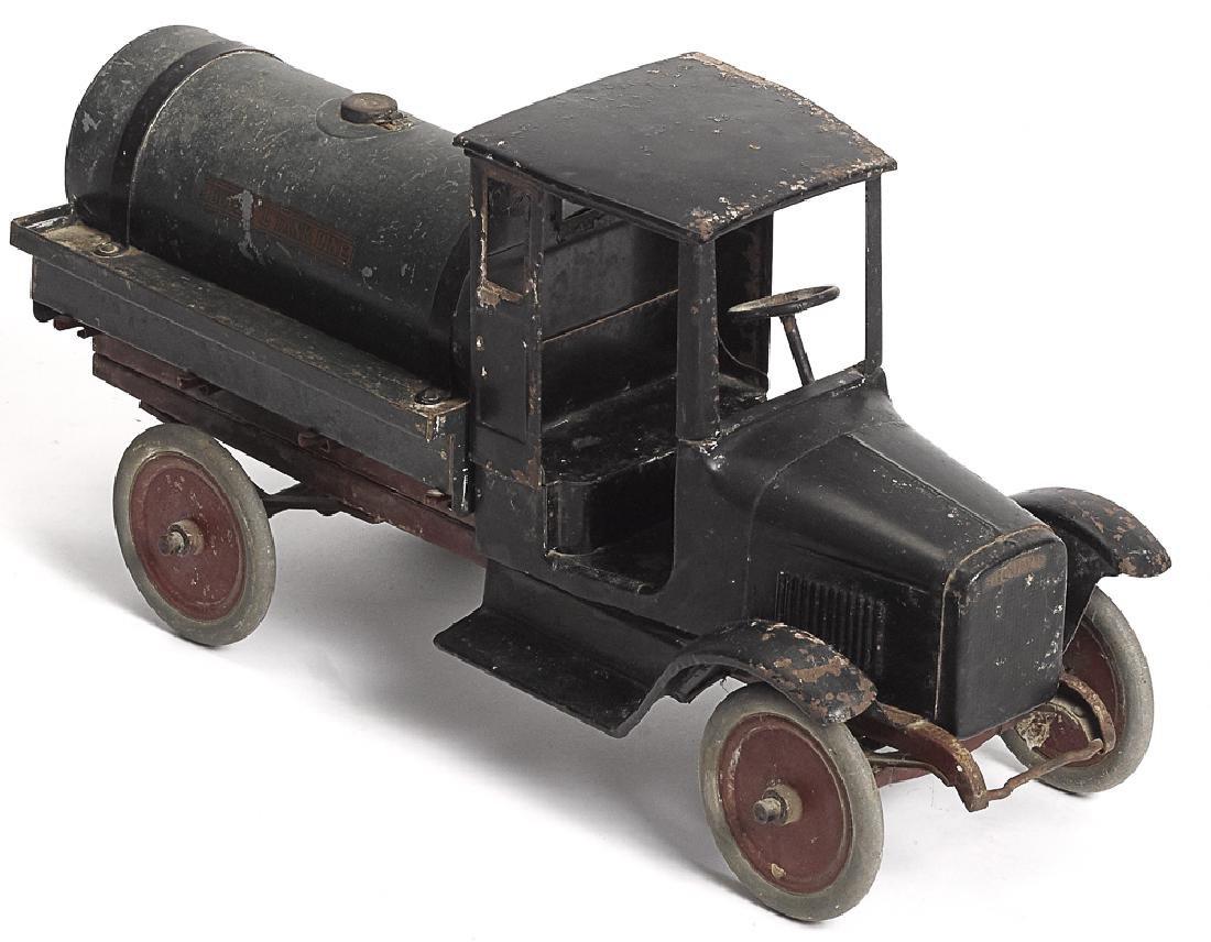 Buddy L pressed steel Tank Line tanker truck