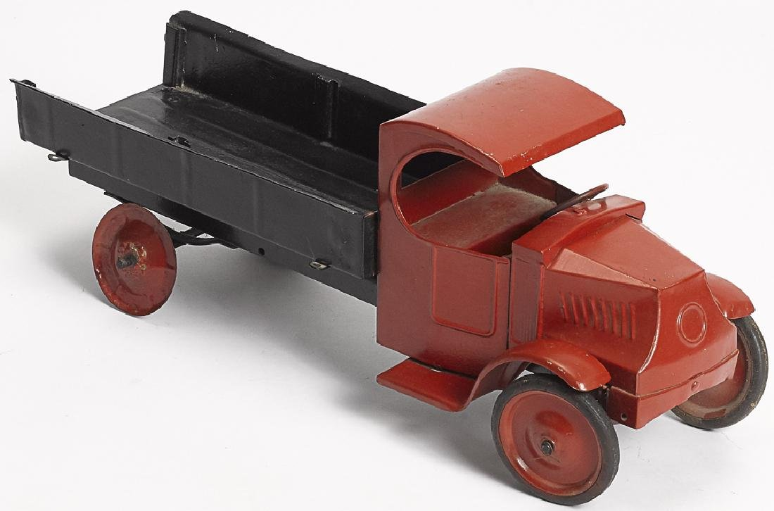 Steelcraft pressed steel delivery truck