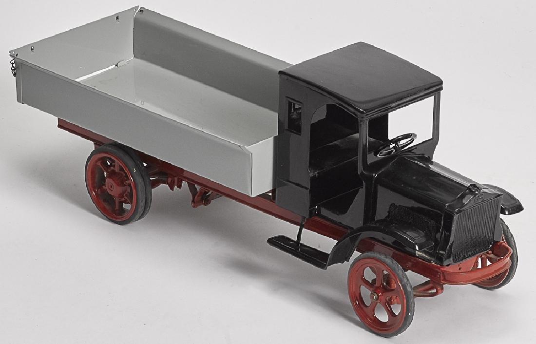 Restored Kelmet pressed steel Whitedump truck