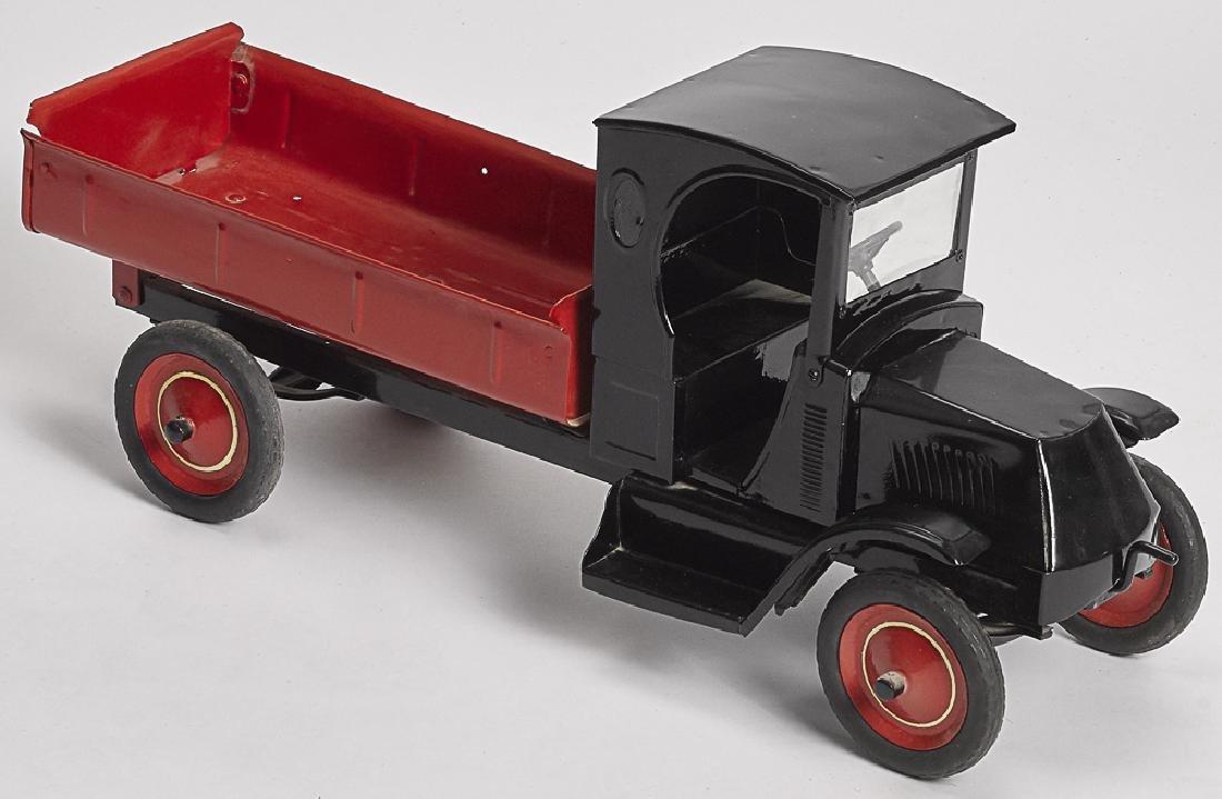 Restored Steelcraft pressed steel dump truck