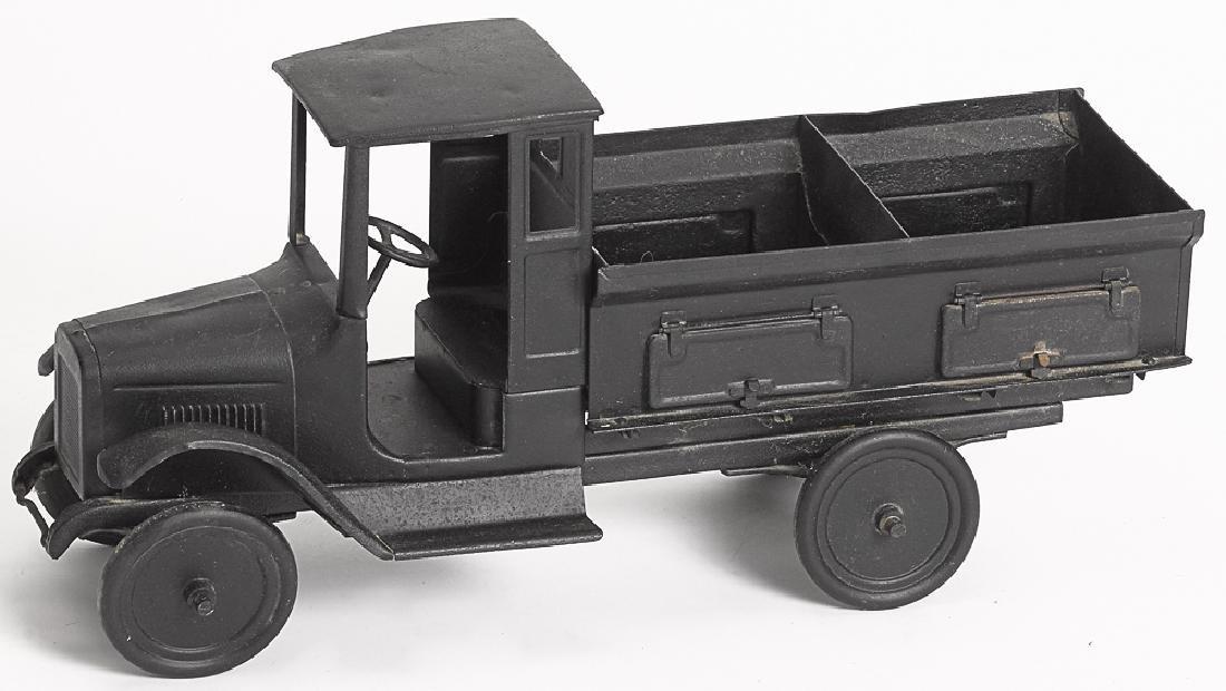 Buddy L pressed steel side dump coal truck