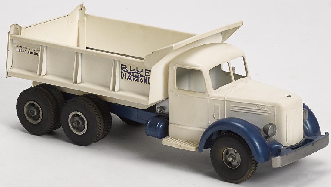 Smith Miller pressed steel dump truck