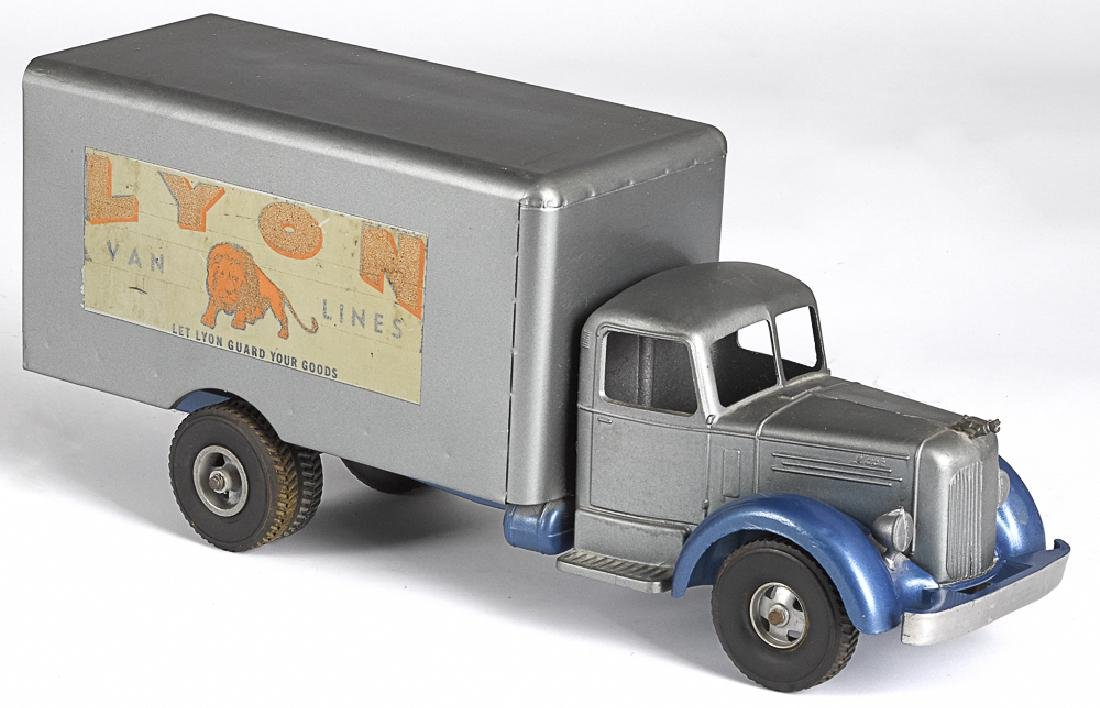 Smith Miller pressed steel delivery truck