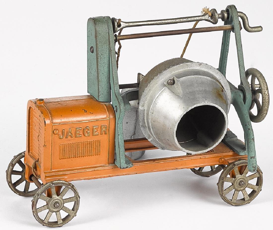Large Kenton cast iron Jaeger cement mixer