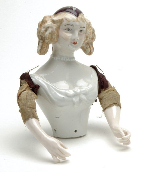 Half Doll Lady with Separate Arms