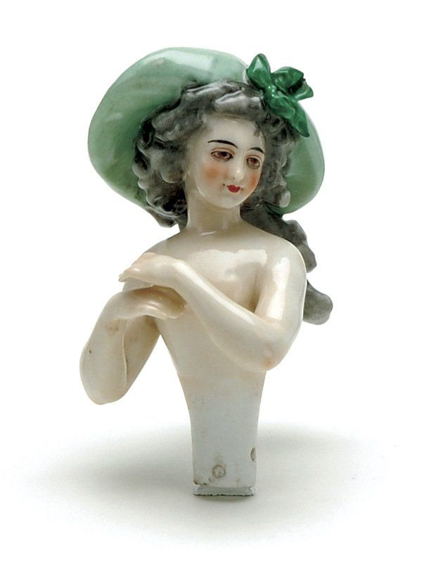 Half Doll with Long Flowing Hair