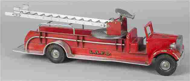 Smith Miller pressed steel L.A.F.D. ladder truck